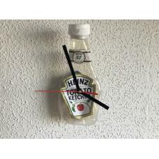 Wandklok Ketchup/Catchup