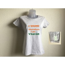 I think therefore I am vegan