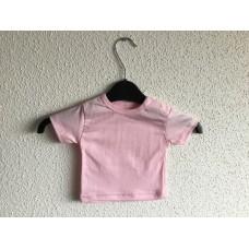 Baby t-shirt om te bedrukken roze