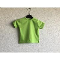 Baby t-shirt om te bedrukken groen
