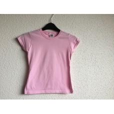 Kinder t-shirt om te bedrukken roze
