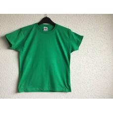 Kinder t-shirt om te bedrukken groen
