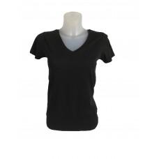 Dames t-shirt v-hals om te bedrukken