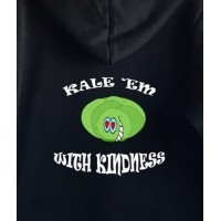 Kale 'em with kindness