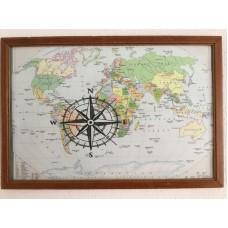 "Wanddecoratie ""Kompas"""