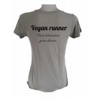 Vegan runner: vreet kilometers, geen dieren
