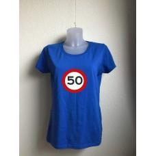 Sara: 50 jaar! (grote opdruk)